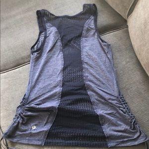 lululemon athletica Tops - Lululemon tank size 6 with mesh detail